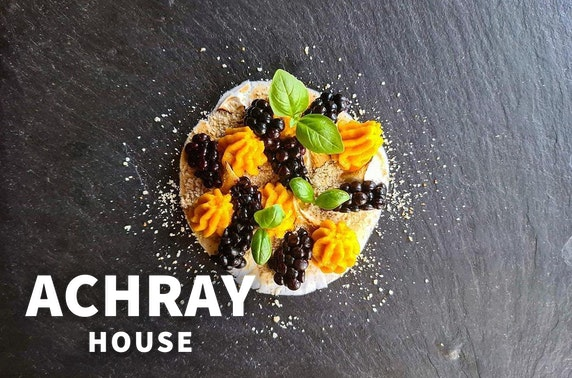 Achray House dining at-home