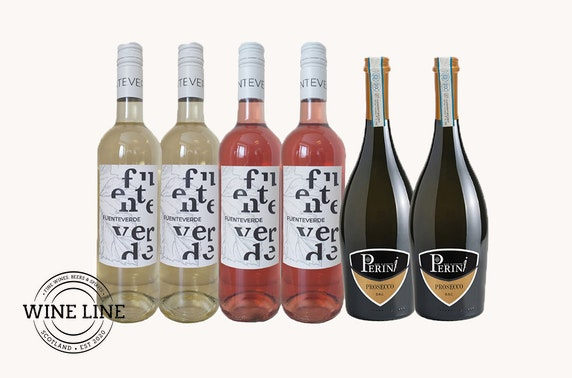 Wine delivered - from £6.50 per bottle