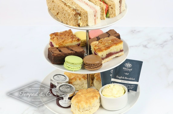 Cream tea or afternoon tea delivered