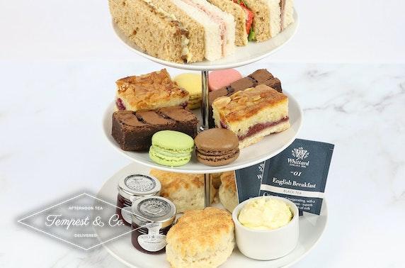 Cream tea or afternoon tea delivered