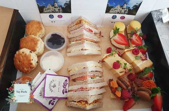 4* Taypark House Mother's Day afternoon tea at-home