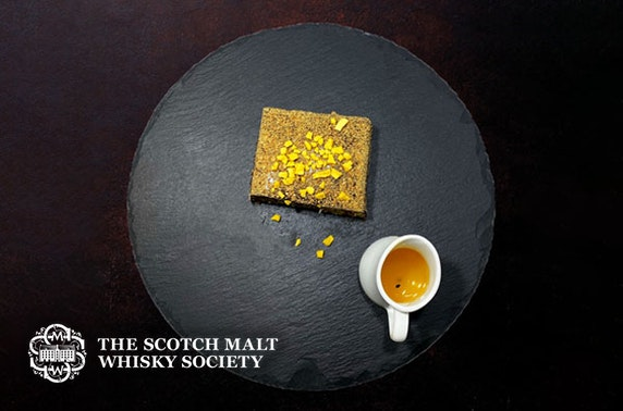 Scotch Malt Whisky Society dining & drinks at-home