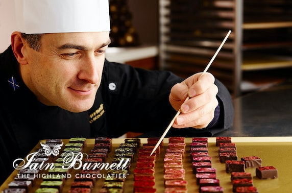Award-winning chocolate tasting at-home
