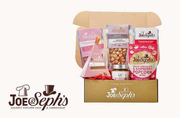 Joe & Seph's Mother's Day popcorn gift box
