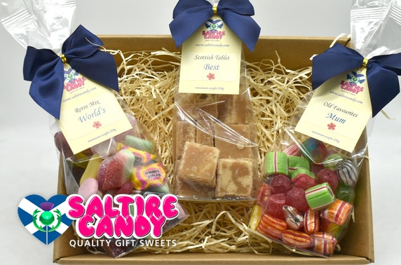Scottish sweetie hamper