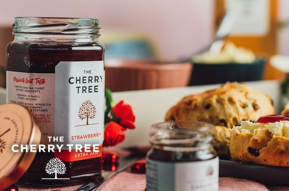 Afternoon tea gift box from The Cherry Tree