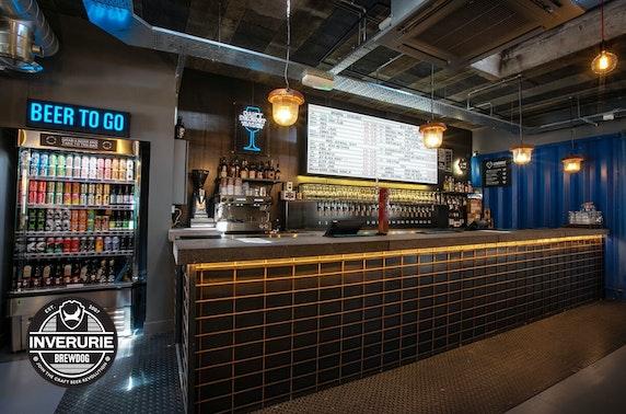 Takeaway burgers & beer, BrewDog Inverurie