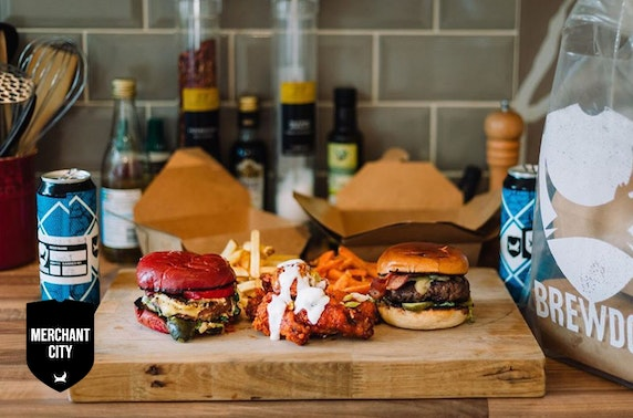 Takeaway burgers & beer, BrewDog Merchant City