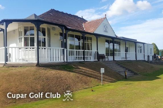 Cupar Golf Club - from £9pp
