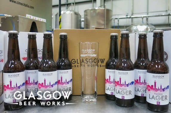 Glasgow Beer Works Summer Pilsner gift pack