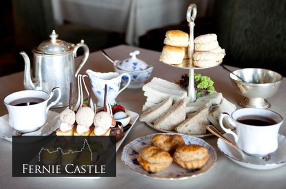 Fernie Castle afternoon tea