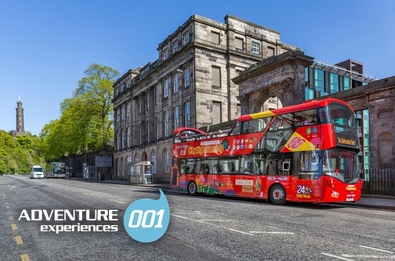 Edinburgh helicopter & bus tours