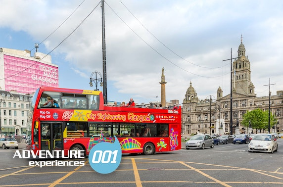 Glasgow helicopter & bus tours