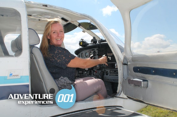 Flight experience, Newcastle International Airport