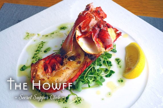 The Howff Secret Supper Club seafood dining at-home