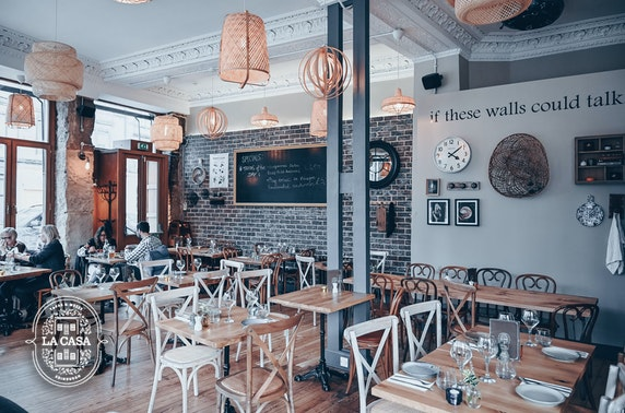 La Casa food & drinks voucher