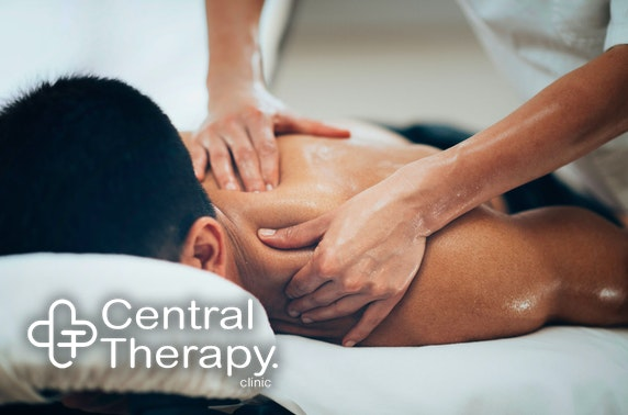 Massage or injury consultation, City Centre
