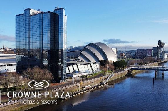 4* Crowne Plaza Glasgow stay