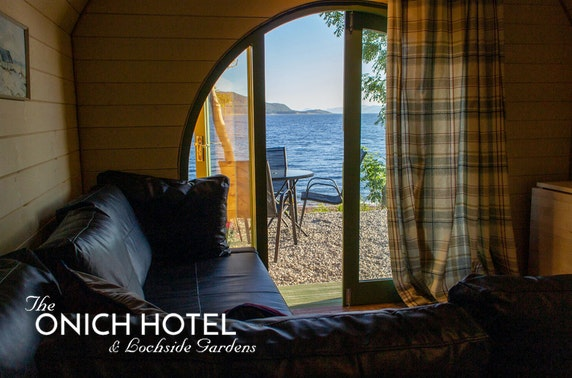 Highland beach pod break - from £79