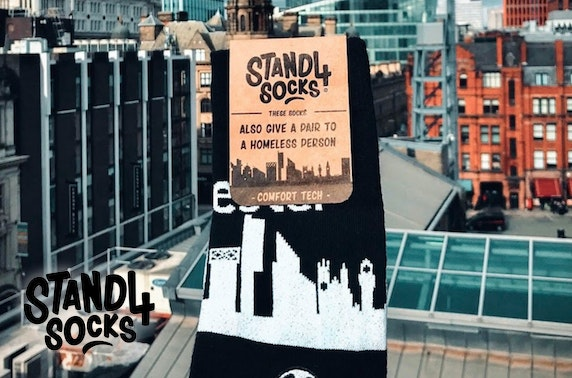 Stand4 Socks - as seen on Dragons' Den