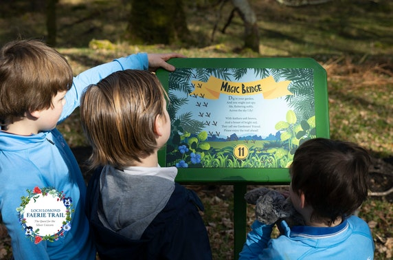 Loch Lomond Faerie Trail woodland adventure - from £3