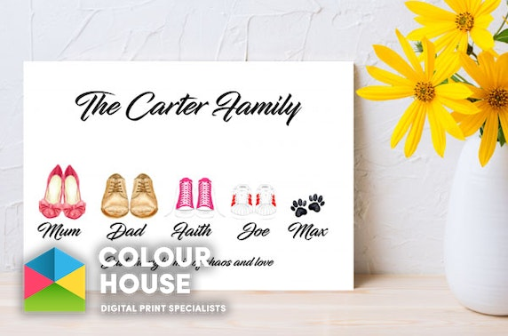 Personalised canvases, cushions & more - from £7