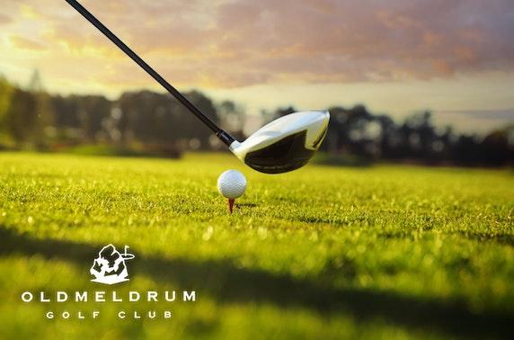 Oldmeldrum Golf Club - from £12.50pp