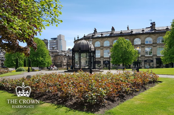 The Crown Hotel stay, Harrogate
