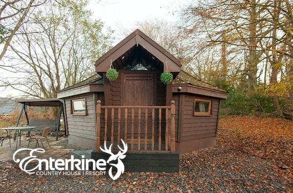 Enterkine lodge stay, Ayrshire