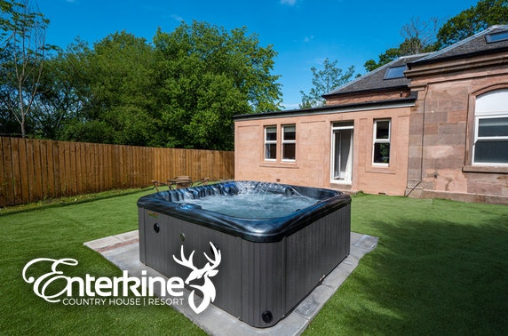 Ayrshire group getaway & hot tub