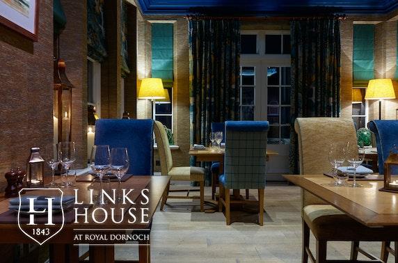 Luxury 5* gastronomic getaway, Dornoch