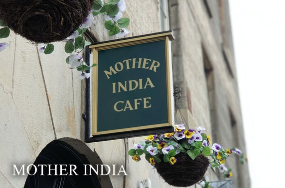 Mother India's Café dining at-home