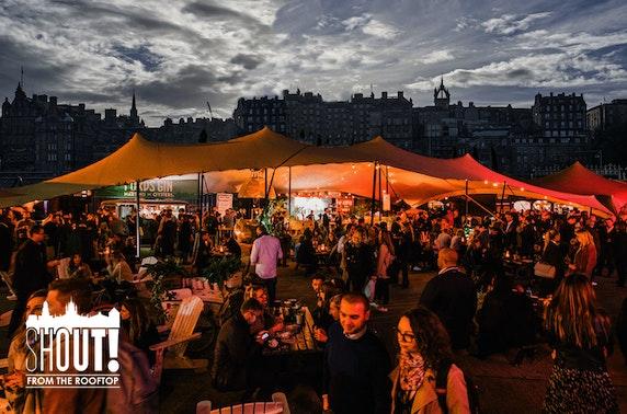 Edinburgh's newest beer garden - £2