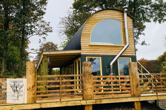 Bothy hot tub stay, Aberdeenshire