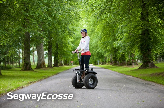 Segway experience, Perthshire - valid 7 days