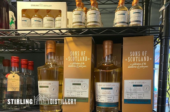 Stirling Distillery whisky experience,