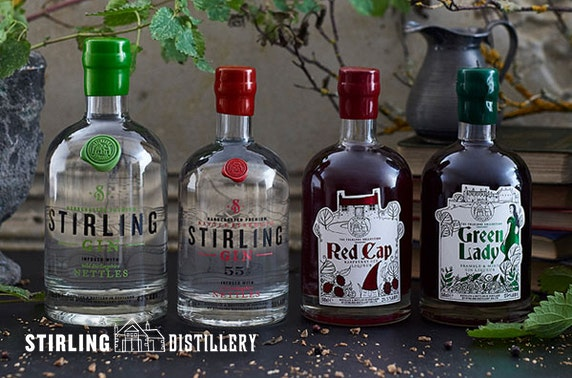 Stirling Distillery gin experience