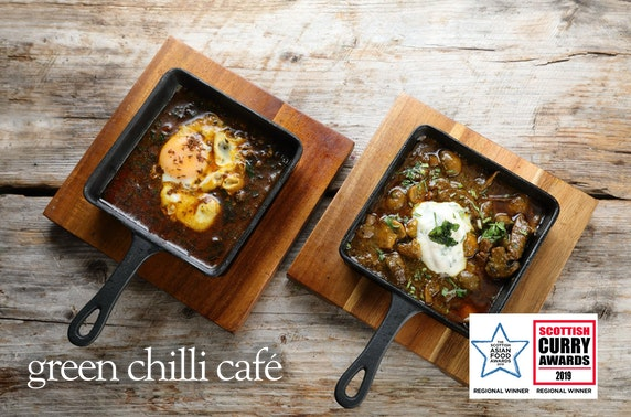 Green Chilli Café dining