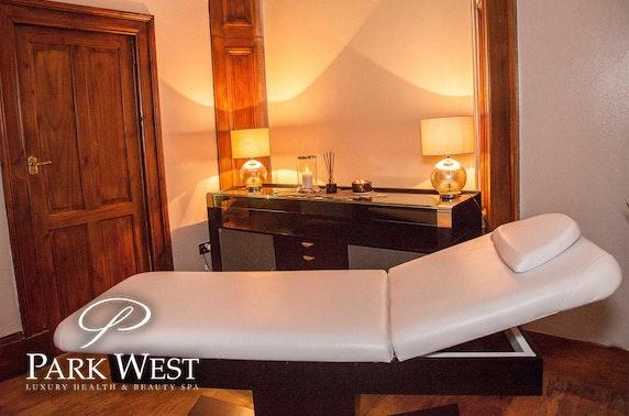Park West Luxury Spa treatments, Hamilton