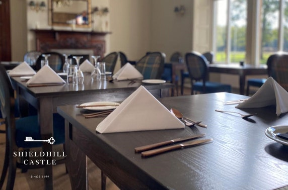 Shieldhill Castle stay, nr historic Biggar