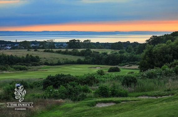 Golf at The Duke's, St Andrews