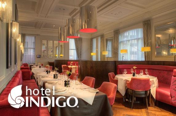 4* Hotel Indigo afternoon tea