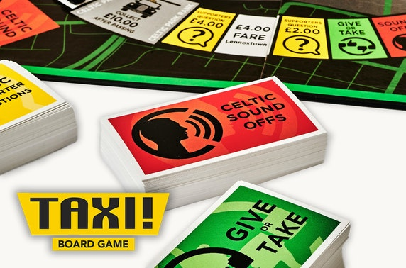 Taxi! Board Game Celtic FC edition