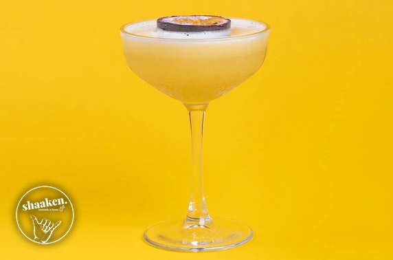 Shaaken Cocktails delivered