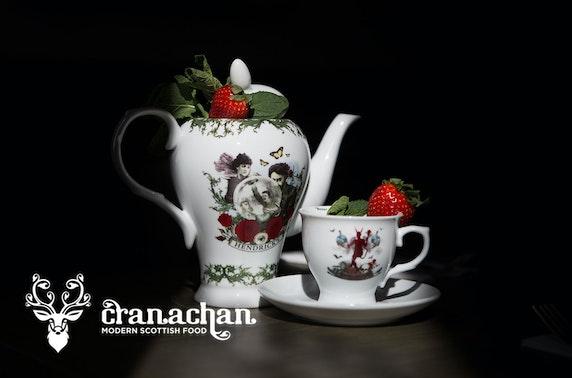 Cranachan afternoon tea, Princes Square