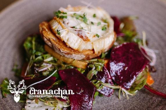 Cranachan dinner, Princes Square