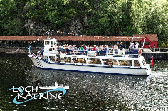 Loch Katrine cruise & afternoon tea