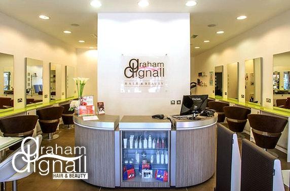 Gel nails or massage at Graham Dignall Hair & Beauty