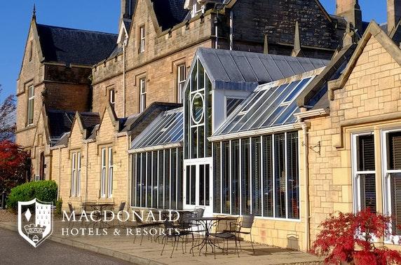 4* Macdonald Inchyra Hotel stay