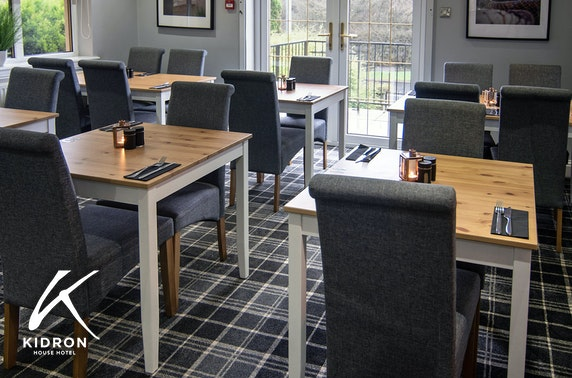 Kildron House Hotel dining